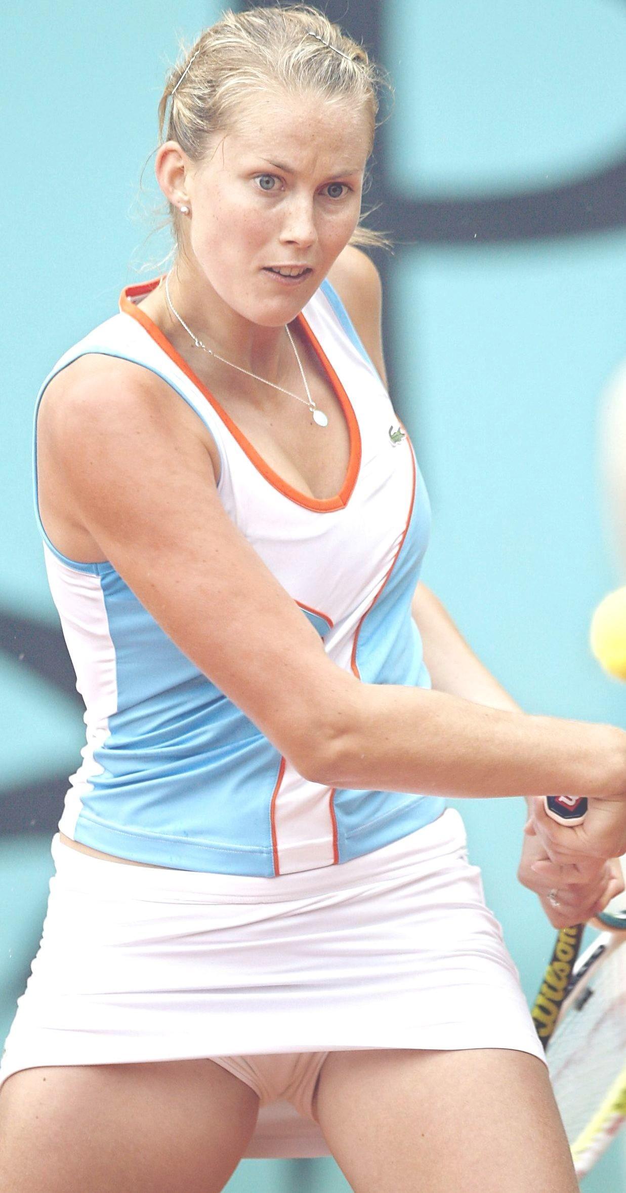 Засветов теннисисток фото