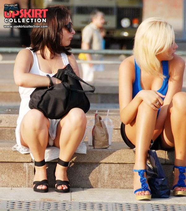 Фото голых девушек на улице частные фото